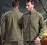 High Quality Autumn Thicken Windproof Plain Uniform Men′s Coat with Zipper