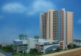 Architectural Scale Model, Plastic Residential Model Building (JW-45)