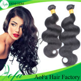Human Loose Wave Hair Brazilian Virgin Hair Weft