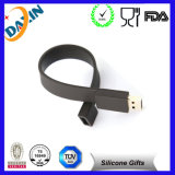 New Fashion Silicone Bracelet USB 2.0 Flash Memory Drive! (4GB, Black)