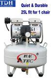 Dental Apparatus/ Oilless & Noiseless 25L Dental Air Compressor (TDH-60/25)