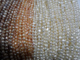 6-7mm Nugget Natural Freshwater Pearls Beads (ES392)