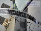 7W Semi Transparent Semi-Flexible Solar Panel
