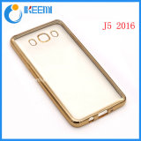Electroplate TPU Cellphone Case for Galaxy J5 (2016)