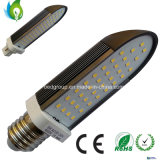 E27 G24 LED Pl Light Lamp with Clear Milkly Cover