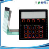 2014 High Quality ESD&EMI Membrane Switch Keypad Overlay