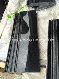 Premium Natural Black Galaxy Granite Slab Cheap Price