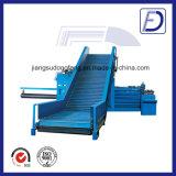 Conveyor Horizontal Corrugated Carton Baler Machine
