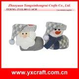 Christmas Decoration (ZY13L380-1-2 14CM) Christmas Decoration Items