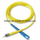 Sc/Upc-St/Upc Sm Sx Fiber Optical Patch Cord