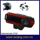 800m Motorbike Helmet Bluetooth Intercom Headset Support Three Sides Intercom
