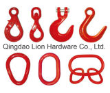 Forged G80 Alloy Steel Self Locking Swivel Safety Hook