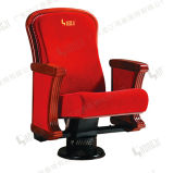 Auditotium Furniture Wood Cover and Single Leg VIP Chair