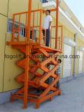 China Made Hydraulic Warehouse Heavy Duty Cargo Elevator Lift