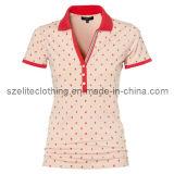 Latest Women Custom Polo Shirts (ELTWPJ-49)