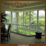 Elegant Aluminum Frameless Glass Railing for Indoor Terrace (SJ-K156)