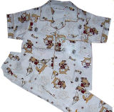 Cotton Flannel Children Sleepwear OEM Order Is Available