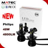 Super Bright G6 Philips 12V& 24V H4 LED Head Car Light