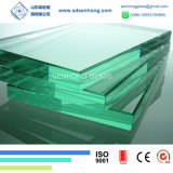 6.38mm 1/4 33.1 Clear and Green Laminate Glass for Building
