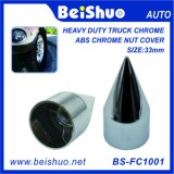Car Accessories Parts Chrome Plastic Spike Nut Cover for Truck