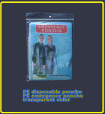Transparent Unicolor Emergency Poncho/Raincoat (LY-PR-004)