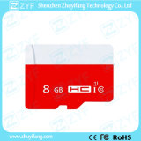 Red and White 8GB Class 10 Micro SD Memory Card (ZYF6022)