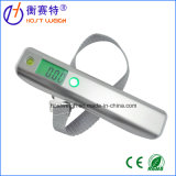 50kg Digital Hanging Travel Weight Luggage Scale Stainless Surface with Soft Measure