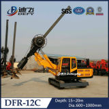 Max Depth 20m Pile Driving Machine Dfr-12c