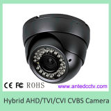 Hybrid CCTV Coaxial HD Camera Ahd Tvi Cvi Cvbs Aanlog Infared Vandalproof Dome Camera