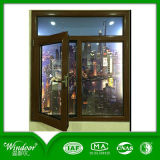 high Quality Aluminum Wood Compand Window for Australia Market