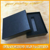 Foam Insert Cardboard Gift Black Box Packaging