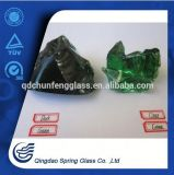 Decorative Dark Green & Light Green Glass Rocks