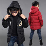 Boy Puffer Snowboard Winter Down Jacket
