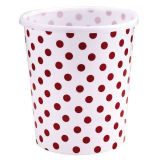 OEM Flower Printing Plastic PP Trash Can