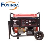 2kVA-7kVA Gasoline Generator with AVR and Wheel Kit