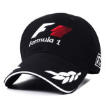 Spring and Summer F1 Motorcycle Racing Outdoor Sport Sunshade Snapback Hats with 3D Embroidery