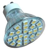 24LED GU10 Spotlight 5W SMD 100-240V