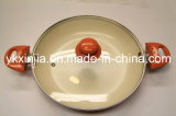 Kitchenware Aluminum Frying Pan with Two Ears