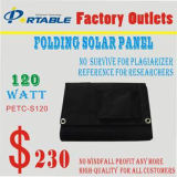 120W Solar Energy Panel Module Charger for Laptop, 12V Battery (PETC-S120)