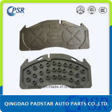 Brake Pads manufacture Cast Iron Back Plate for Volvo Truck