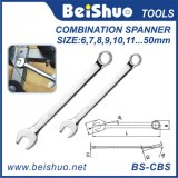 Full Polished Cr-V Repair Tools Multi-Function Universal Combination Ratchet Spanner