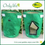 Onlylife Reusable Green Oxford Garden Grow Bag