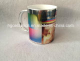 Sublimation Metallic Mug, 11oz Shining Silver Mug