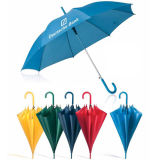 Automatic Open Blue Color Polyester Fabric Promotional Umbrella