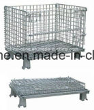 Folded Storage Equipment Wire Mesh Cage (1100*1000*890)