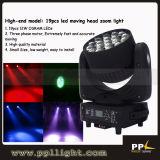 RGBW Quad Color 19*12W LED Zoom & Beam Moving Head Light
