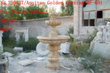 Antique Golden Stone Sculpture Marble Fountain (SY-601)