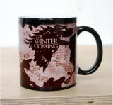Game of Thrones Winter Coming Color Changing Heat Senstive Coffee Mug Gift