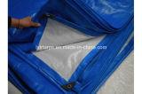 Blue White 4m by 5m PE Waterproof Tarpaulin Cover, Hot Sale in Africa Sun Resist