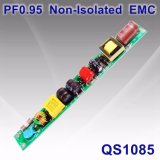 6-20W PF0.95 Non-Isolated LED Lamp Power Supply with EMC QS1085